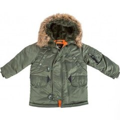 Детская куртка аляска Alpha Industries Youth N-3B Parka YJN44500C1 (Sage Green)