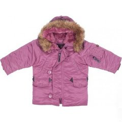 Детская куртка аляска Alpha Industries Youth N-3B Parka YJN44500C1 (Pink)