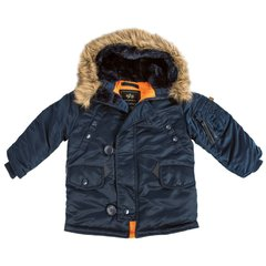 Детская куртка аляска Alpha Industries Youth N-3B Parka YJN44500C1 (Rep.Blue)