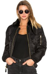 Женский бомбер Alpha Industries B-15 Slim Fit Flight Jacket WJM44500C1 (Black)