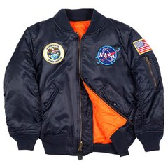 Детская куртка Alpha Industries Youth NASA MA-1 YJM21093C1 (Rep.Blue)