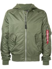 Мужская ветровка L-2B Natus Flight Jacket Alpha Industries MJL48026C1 (Sage)