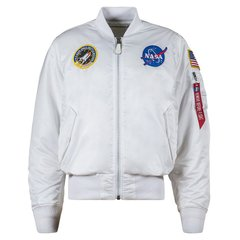Мужская ветровка L-2B NASA Flight Jacket Alpha Industries MJL47020C1 (White)