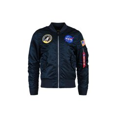 Мужская ветровка L-2B NASA Flight Jacket Alpha Industries MJL47020C1 (Rep.Blue)