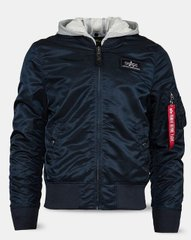 Мужская ветровка L-2B Hooded Flight Jacket Alpha Industries MJL47030C1 (Rep.Blue)