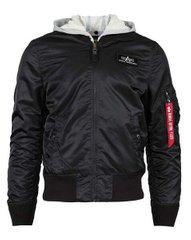 Мужская ветровка L-2B Hooded Flight Jacket Alpha Industries MJL47030C1 (Black)