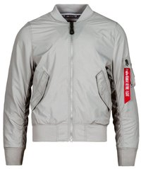 Мужская ветровка L-2B Scout Flight Jacket Alpha Industries MJL46000C1 (New Silver/Striped Lining)