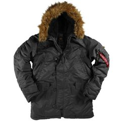 Мужская куртка аляска Alpha Industries N-3B Parka MJN31000C1 (Black)