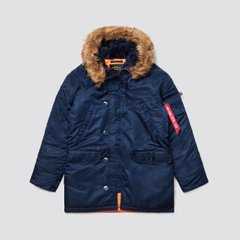 Зимняя куртка аляска Alpha Industries Slim Fit N-3B Parka MJN31210C1 (Rep.Blue)